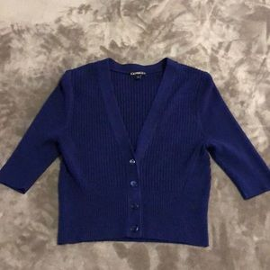 Women's Express Crop Cardigan Size Small